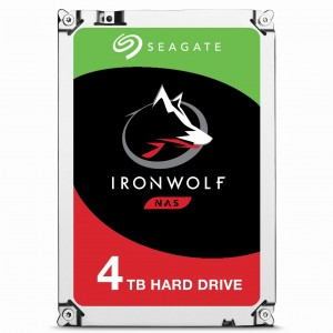 "Seagate Dysk HDD Seagate IronWolf ST4000VN008 (4 TB ; 3.5""; 64 MB; 5900 obr/min)  PROMO"