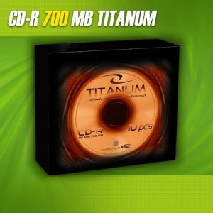 CD-R Titanum 56x 700MB (Slim 10) 2028