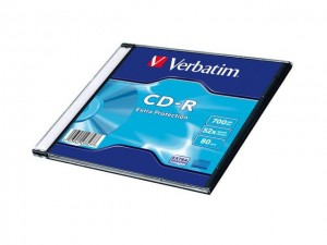 CD-R Verbatim 700MB Extra Protection  (200 Slim)