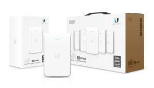 Access Point UBIQUITI UniFi AP AC IN-WALL PoE+ WiFi AC1167 Dual-Band 2x2 MIMO