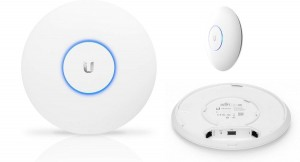 Access Point UBIQUITI UniFi UAP-AC-PRO AP AC1300 5GHz, N450 2,4GHz 122m 2x1GbE LAN