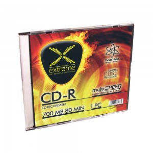 CD-R Extreme 56x 700MB (Slim 1) Silver