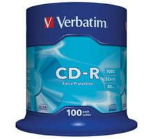 CD-R Verbatim 700MB Extra Protection (cake 100)