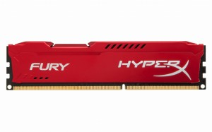 Kingston Pamięć Kingston HyperX FURY HX316C10FR/4 (DDR3 DIMM; 1 x 4 GB; 1600 MHz; CL10)